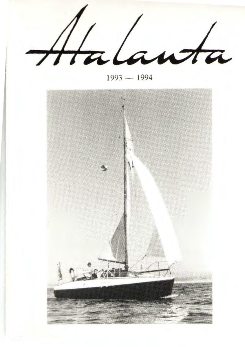 AOA Bulletin 1993-94 cover