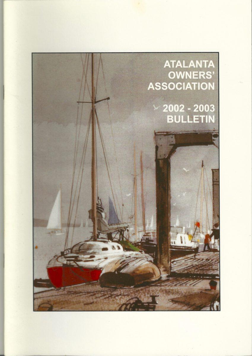 AOA Bulletin 2002-03 cover