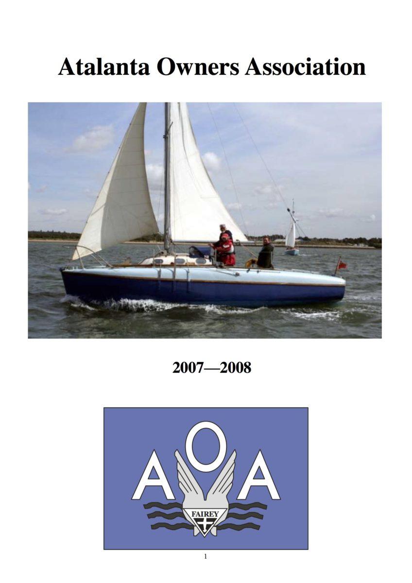AOA Bulletin 2007-08 cover