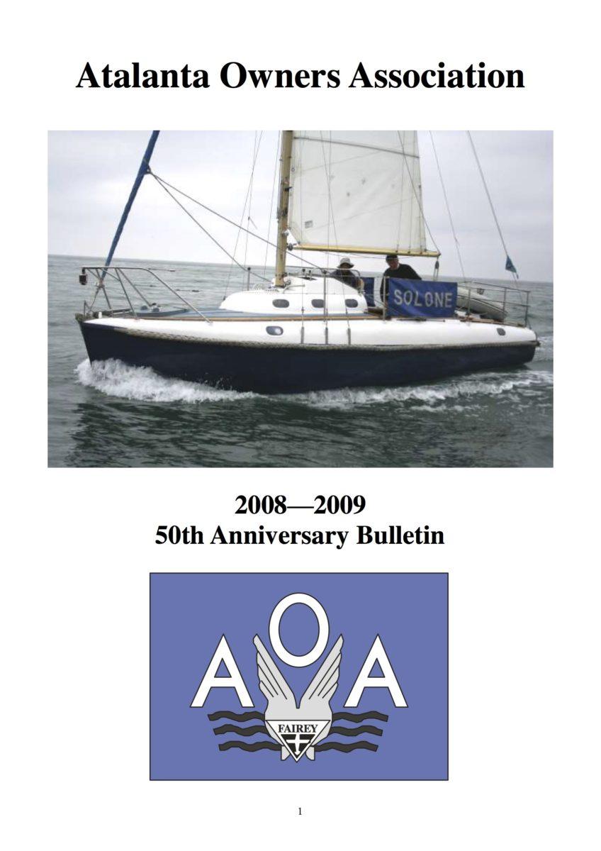 AOA Bulletin 2008-09 cover