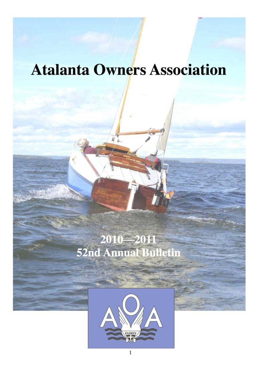 AOA Bulletin 2010-11 cover