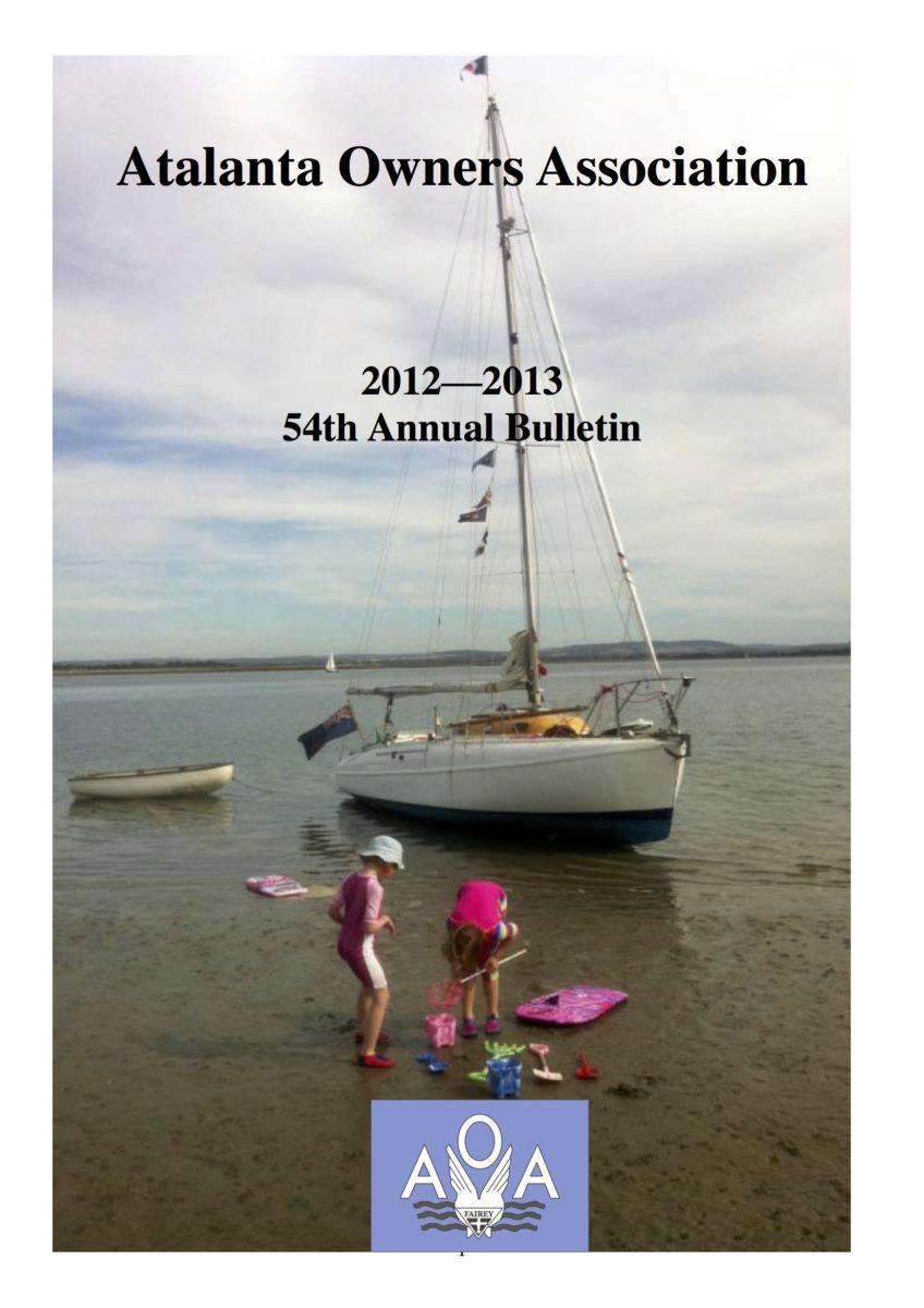 AOA Bulletin 2012-13 cover
