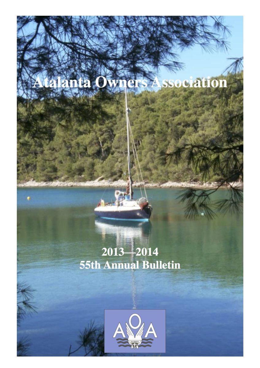 AOA Bulletin 2013-14 cover