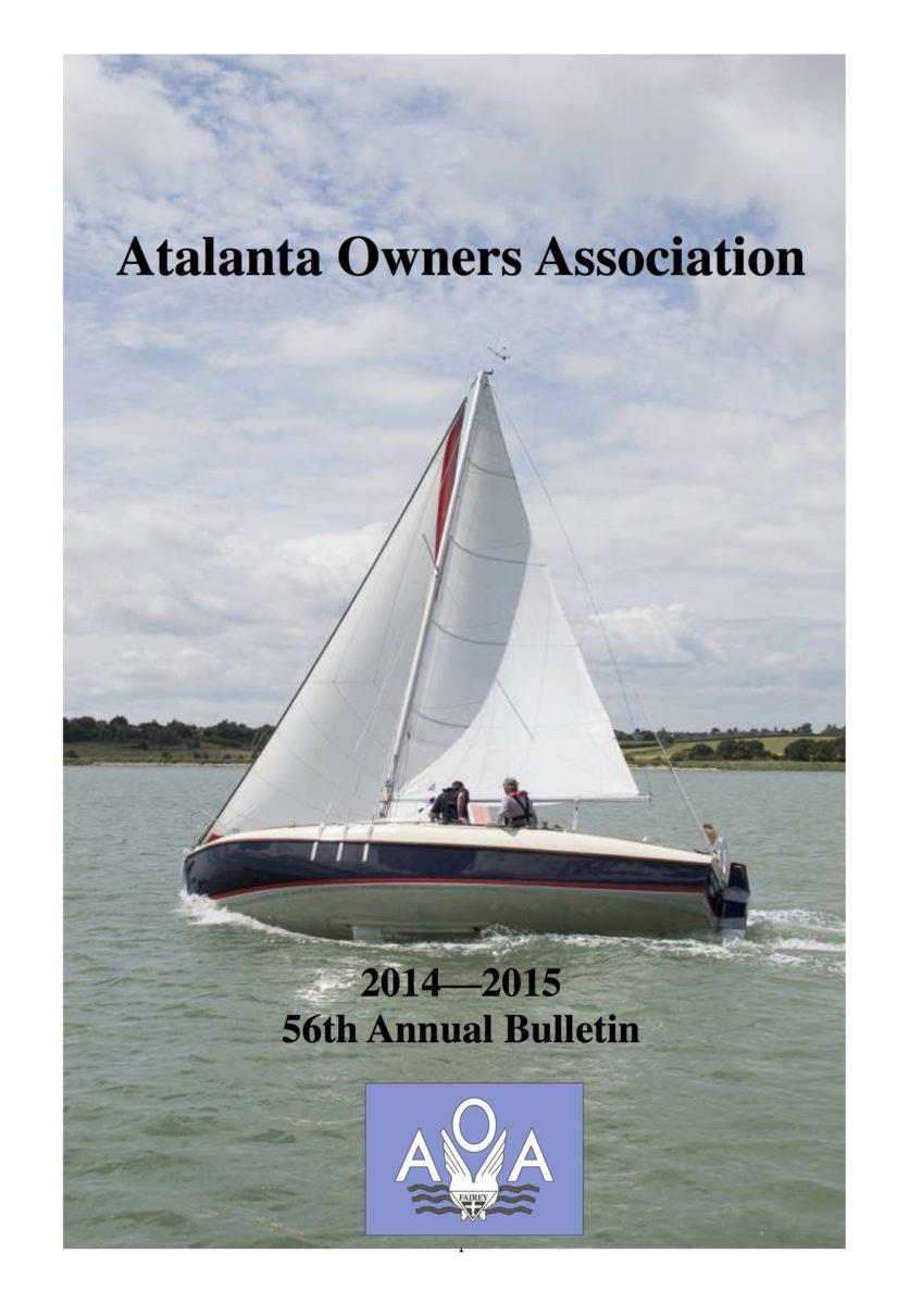 AOA Bulletin 2014-15 cover