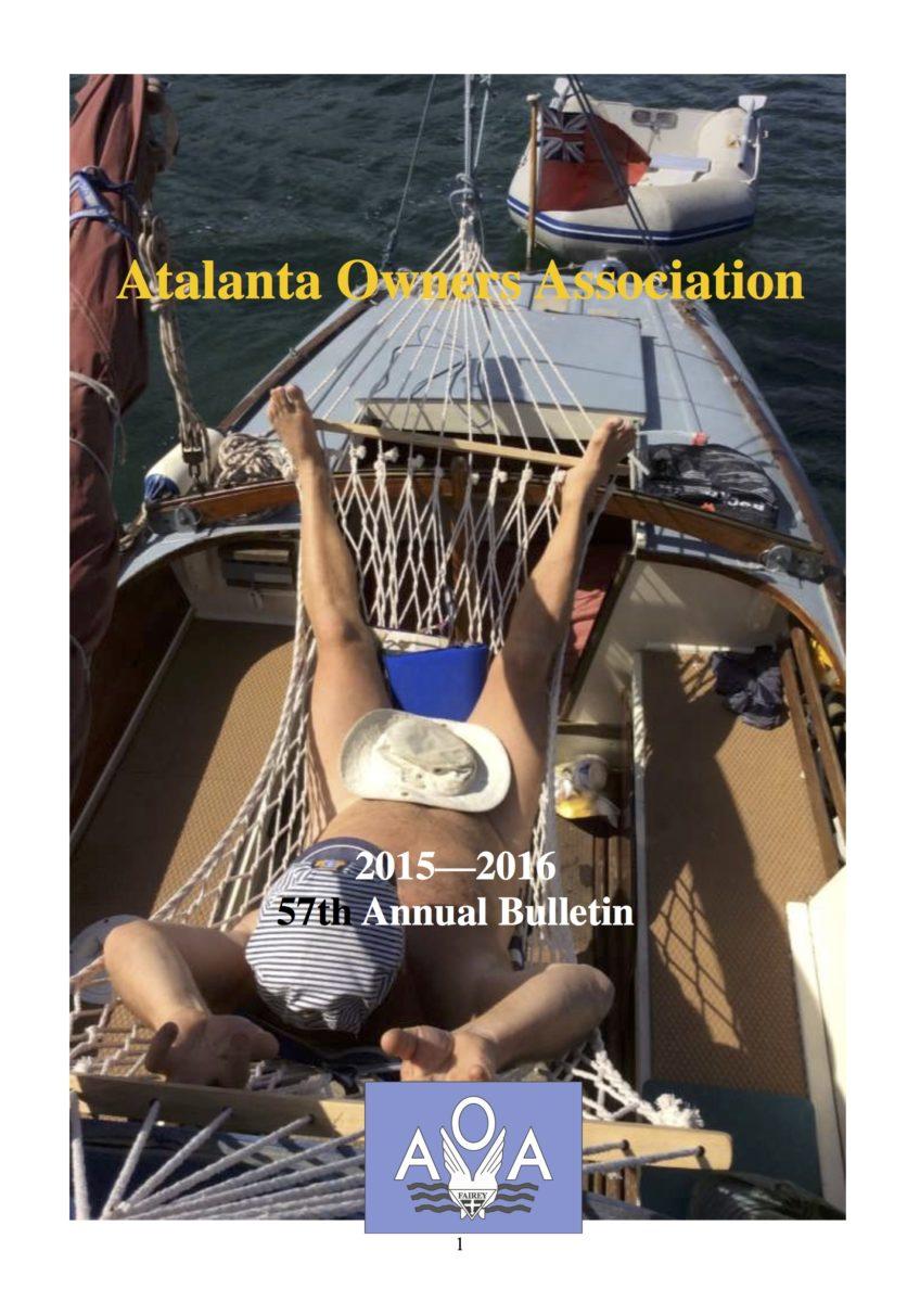 AOA Bulletin 2015-16 cover