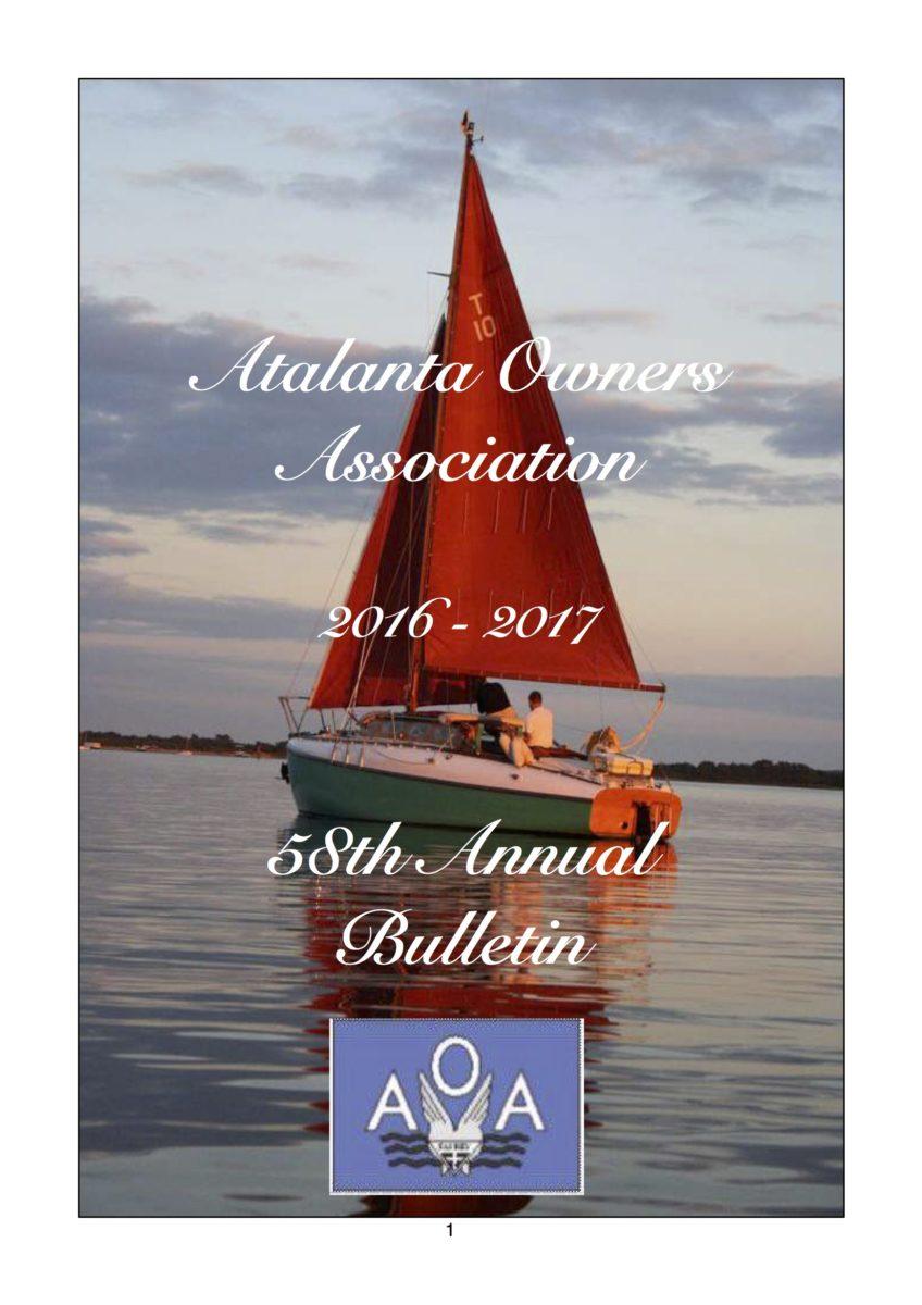 AOA Bulletin 2016-17 cover