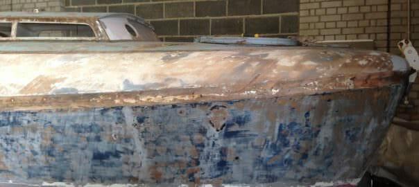 2015 31-10 Zambra Renovations - topside preparations