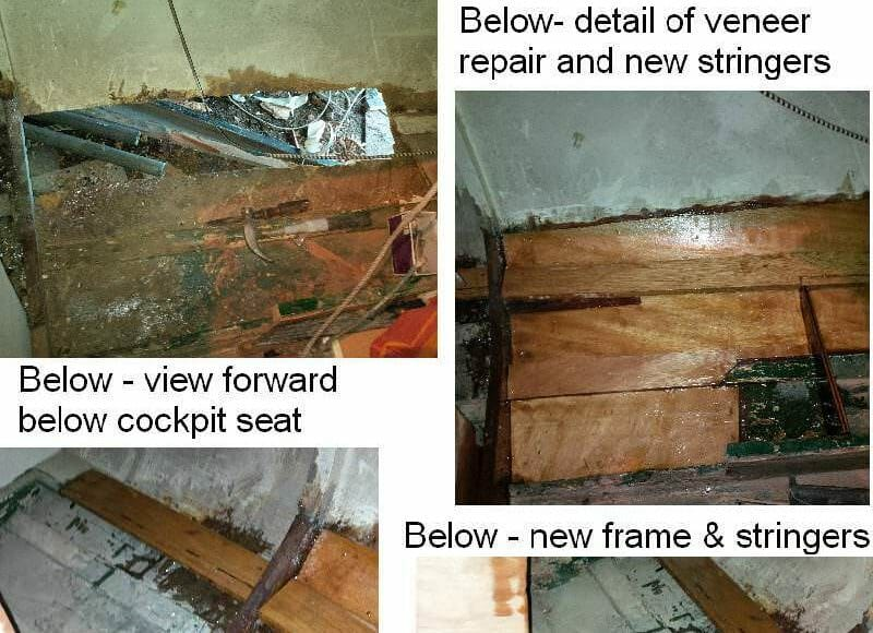 A169 Aft Cabin Starboard repairs