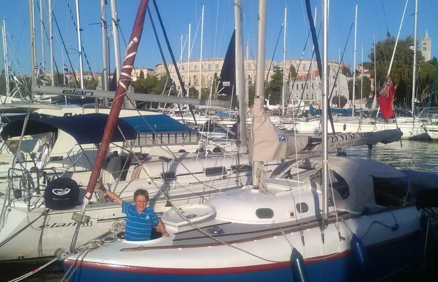 2017 A60 Achates cruises in Croatia