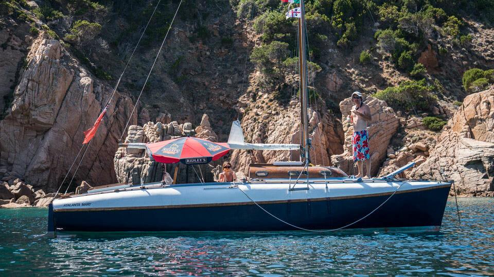 A102 Atalanta Mary in the Mediterranean