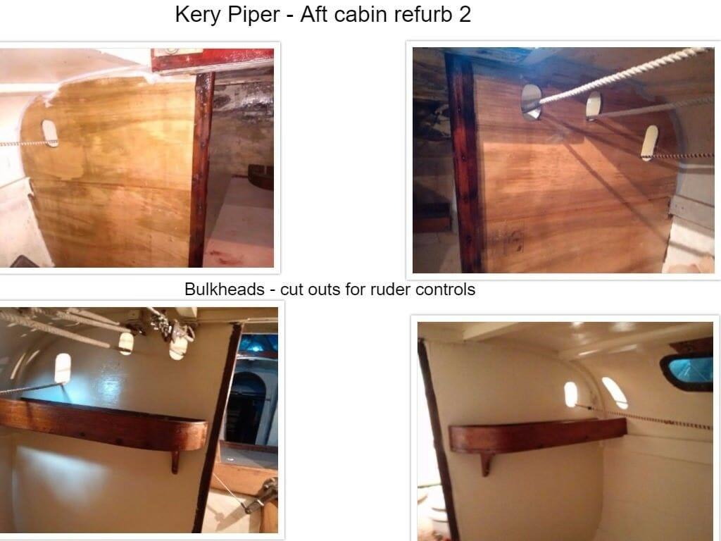 Aft cabin refurb 2