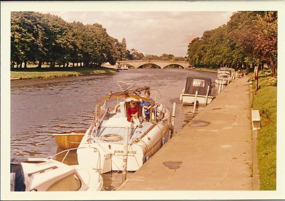 Emma Duck River Avon 1973