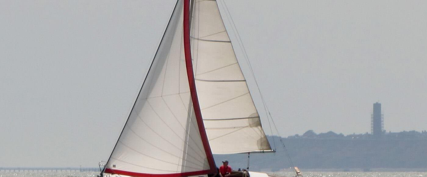 Colchide sailing near Harwich