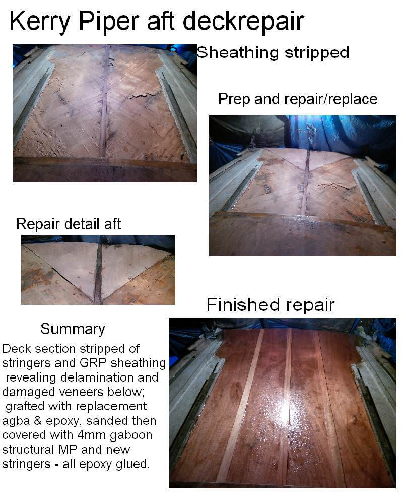 A169 Kerry Piper Aft Deck repairs
