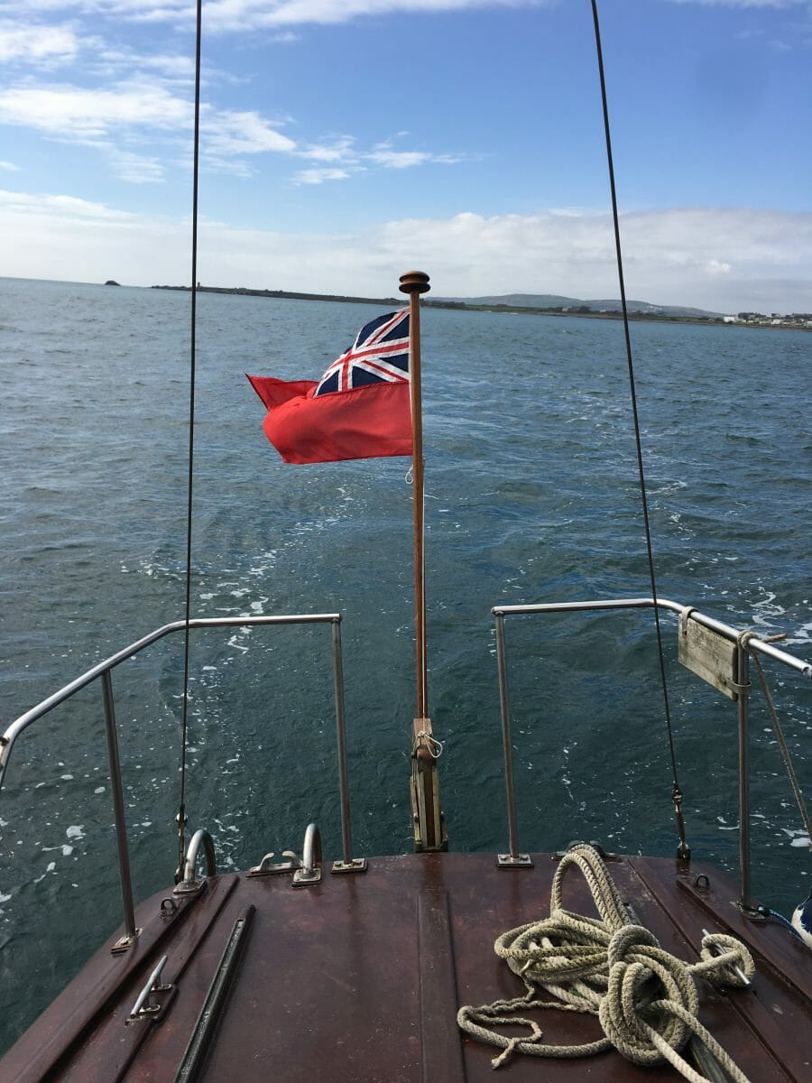 T4 Brother Jack Shake Down Sail