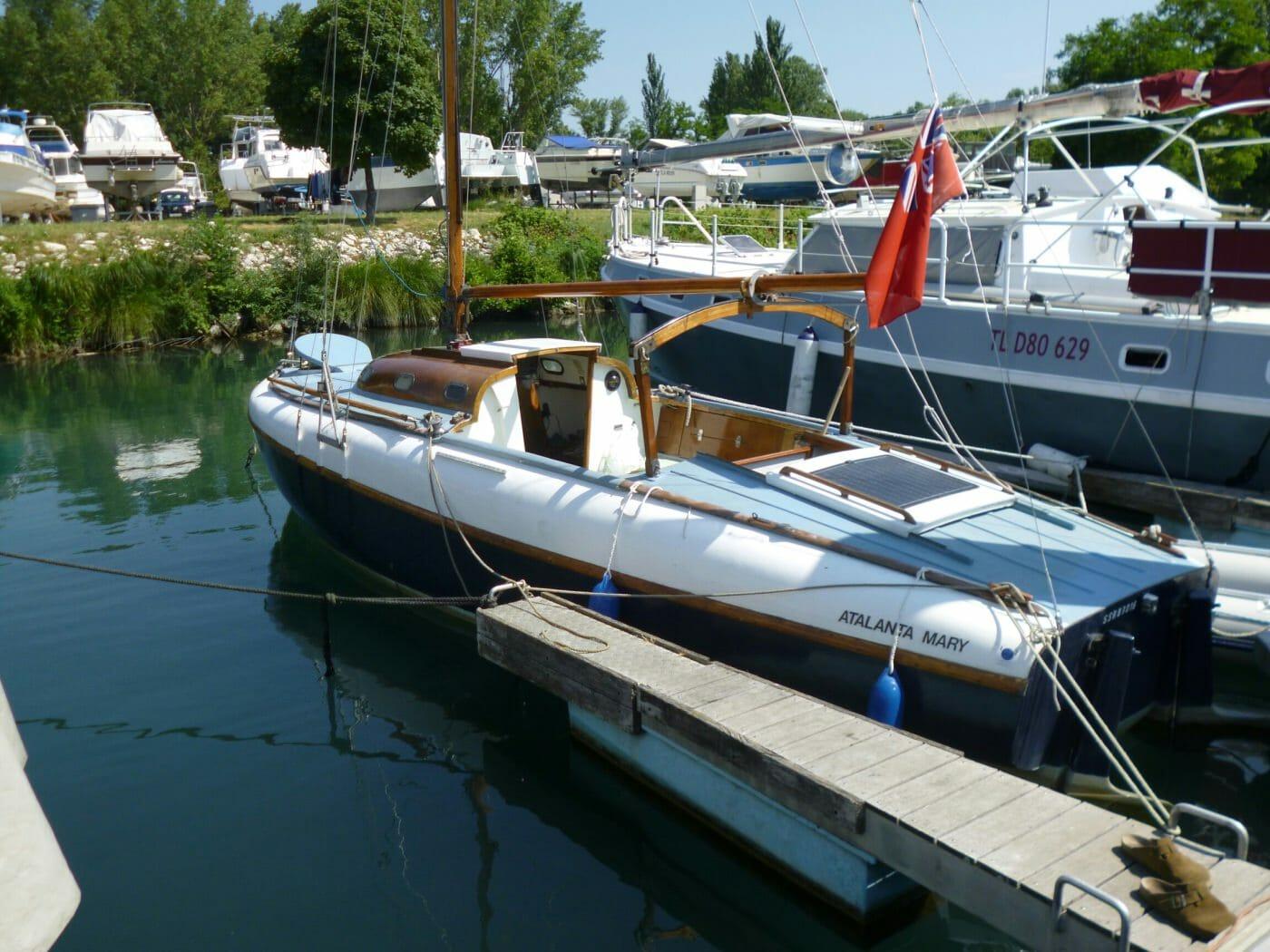 Boat repairs.