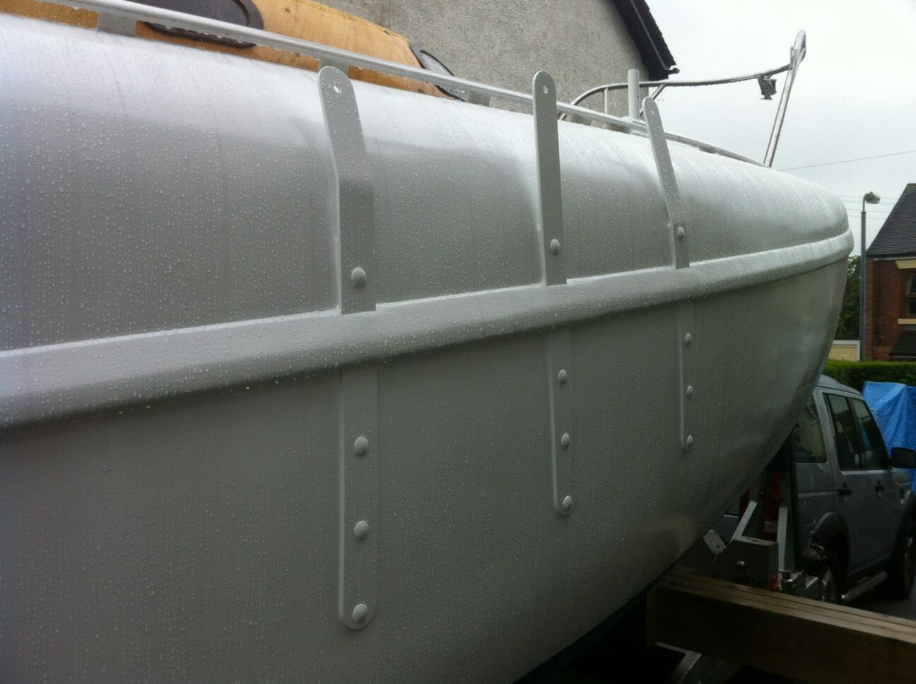 A17 New Chain Plates Finished June 2012 - Rust Free Topsides This Season?