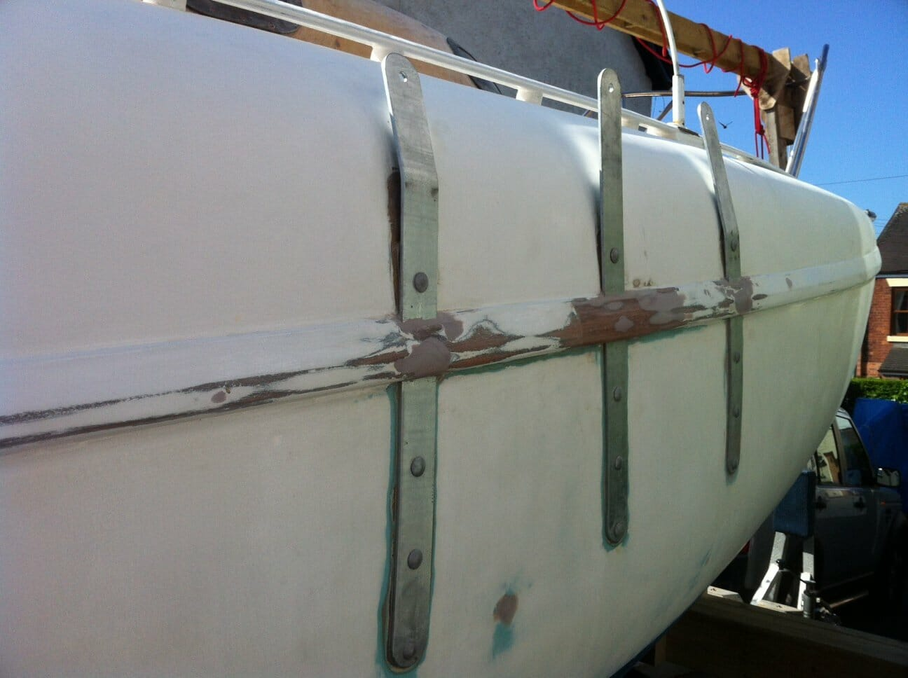 A17 New Chain Plates Ready for 4 Painting May 2012