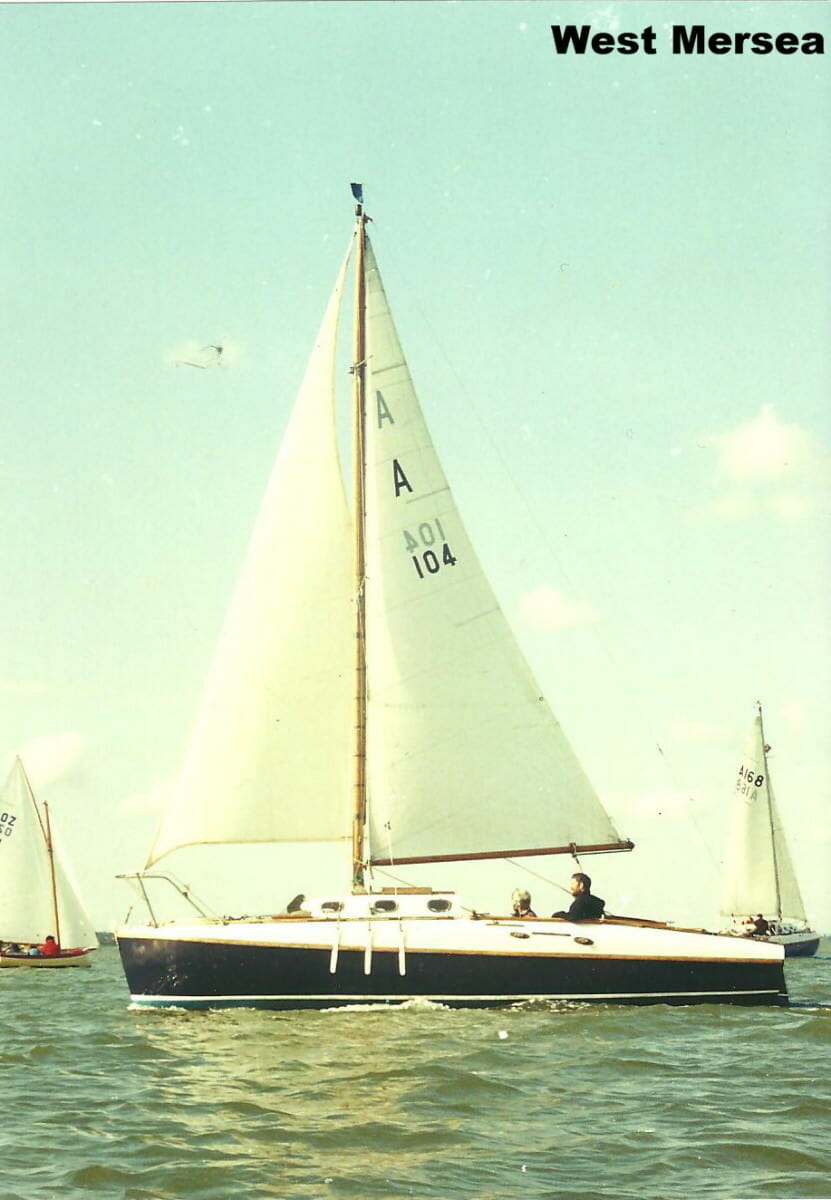 A104 Arosa at W Mersea