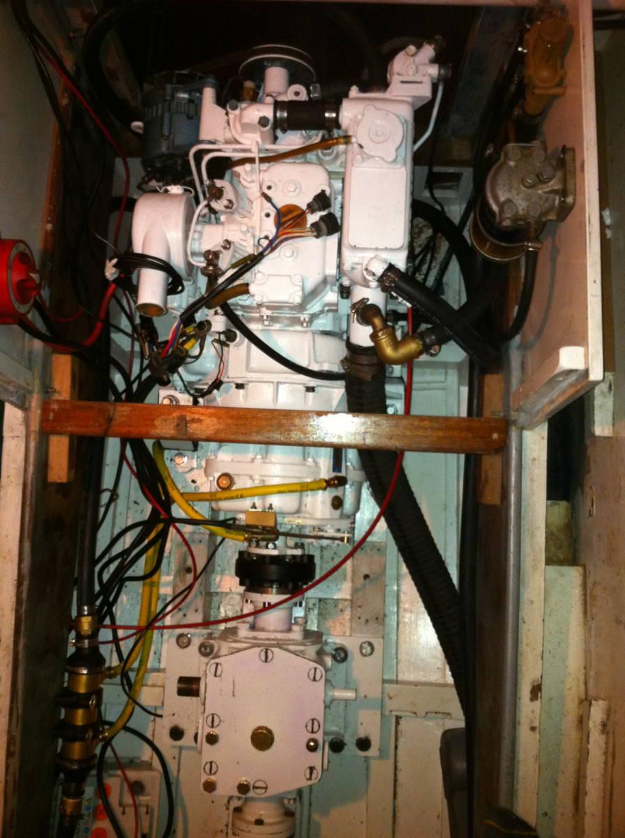 A17 Yanmar 2GM20FC + PRM 150 Gearbox + Original Transfer Box 4 Variable Pitch Prop Spring 2011