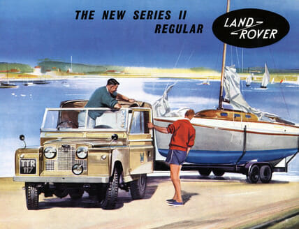 Series II Land Rover Advert
