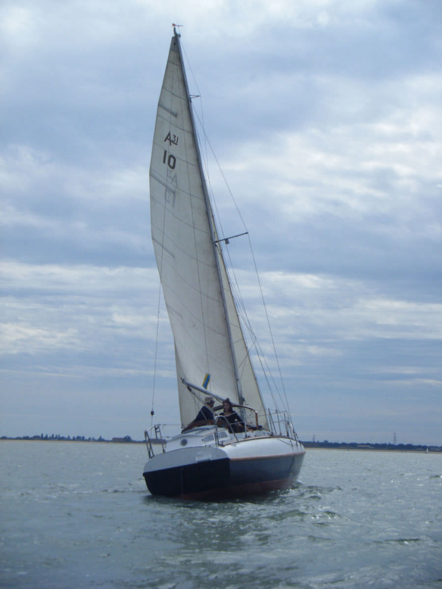 2011 A31-10 Zambra at West Mersea