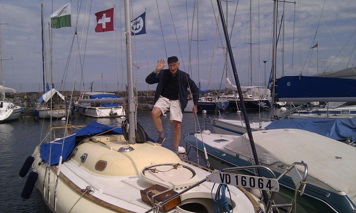 Bernard aboard A89 Colchide