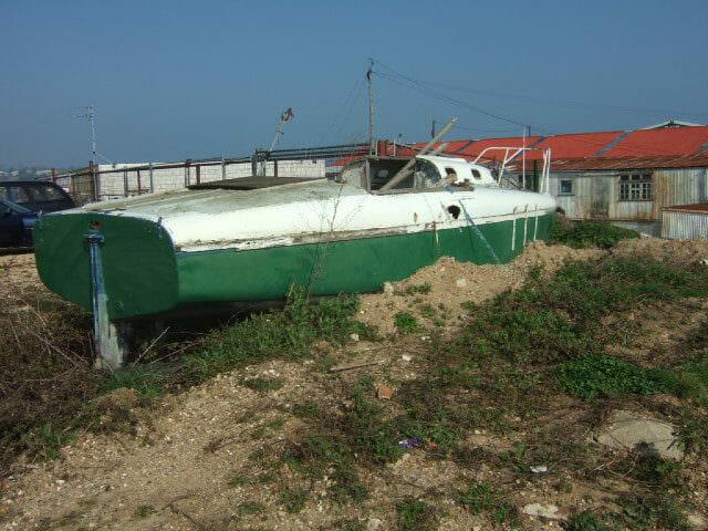 A174 Cordyl hull & transom