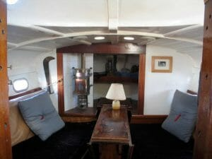 For Sale in 2004. A very comfortable saloon.