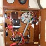 Electrics panel - very tidy.