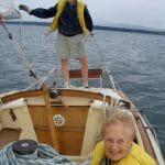 Bernard sailing in 2006