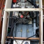 Engine arrangement. Ferryman and lots of space!