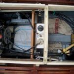 2006 ferryman diesel and hydraulic drive. Engine mounted back to front for access.