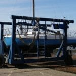 2015 at West Mersea - in the hoist