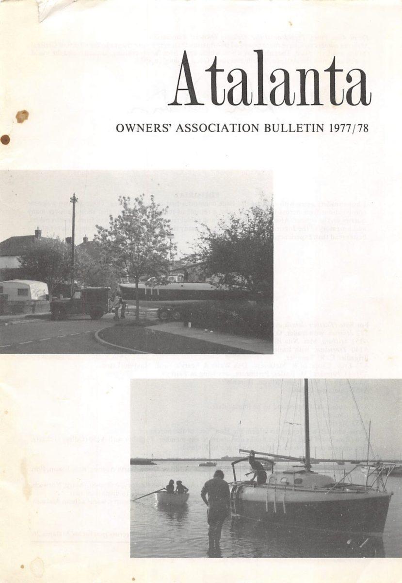 AOA Bulletin 1977-78 cover