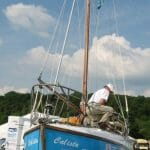 2008 Callista at the Thames Traditional Boat Rally