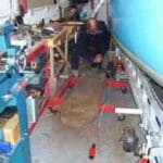 2008 In the workshop