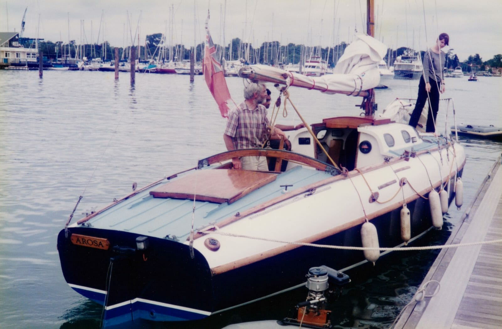 A104 Arosa at MDL Hamble 1996