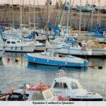 """""""Epenetus"""" confined to Axmouth harbour for much of 2007 as there was a pollution control boom in place after the """"Napoli"""" was blown up using explosives - fuel oil everywhere"""