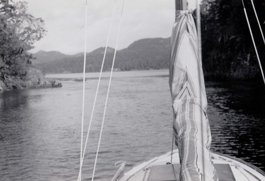 A51 Heading out of Anderson Cove, BC Canada 1990