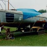 A66 At the 1992 Maritime Museum Boat show as an example of what can be achieved