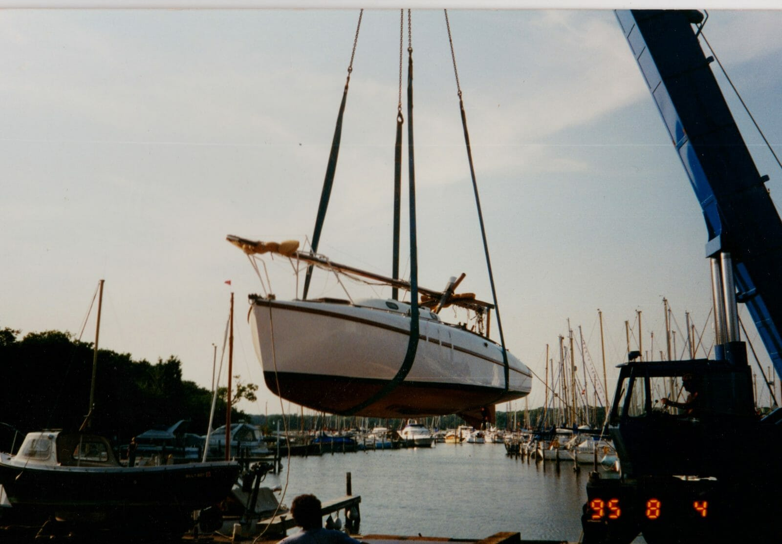 A83 Flying Fox new owner and new paint in 1995