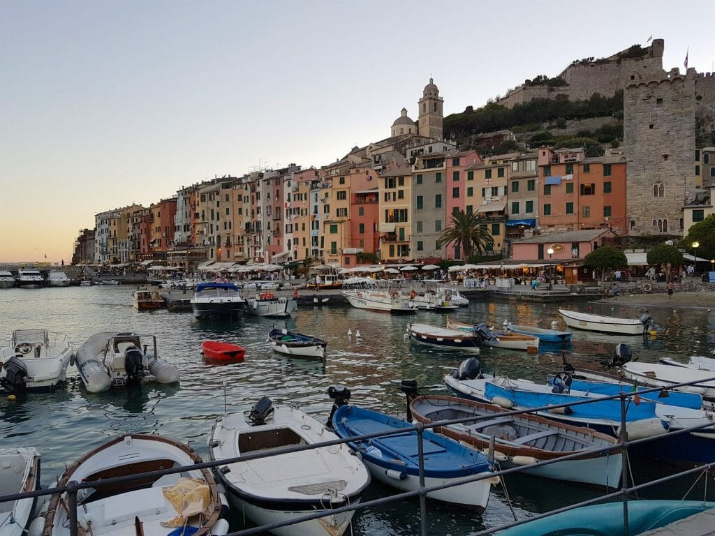 Evening in Portovenere