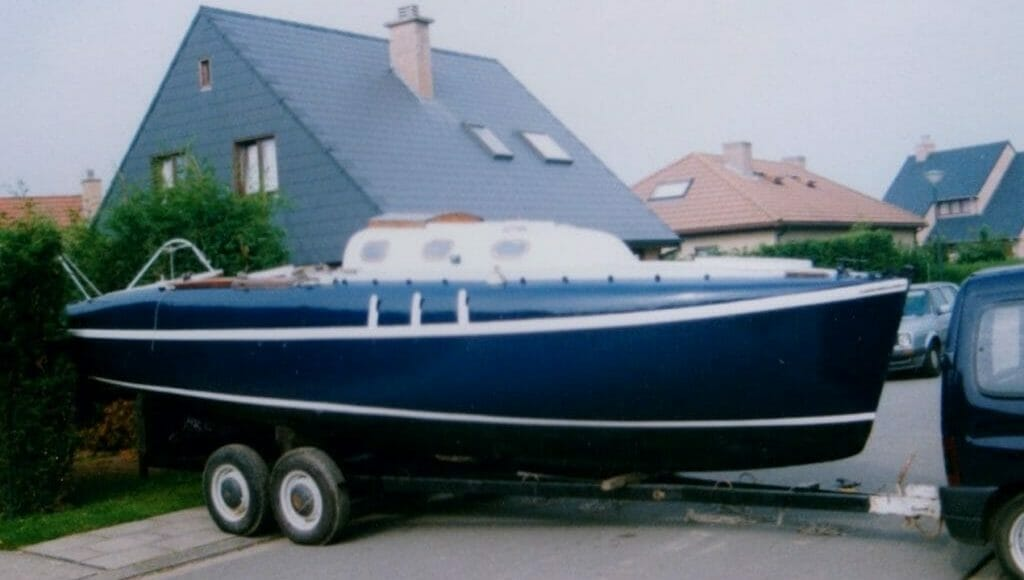 A169 Kerry Piper in 1999, looking very smart