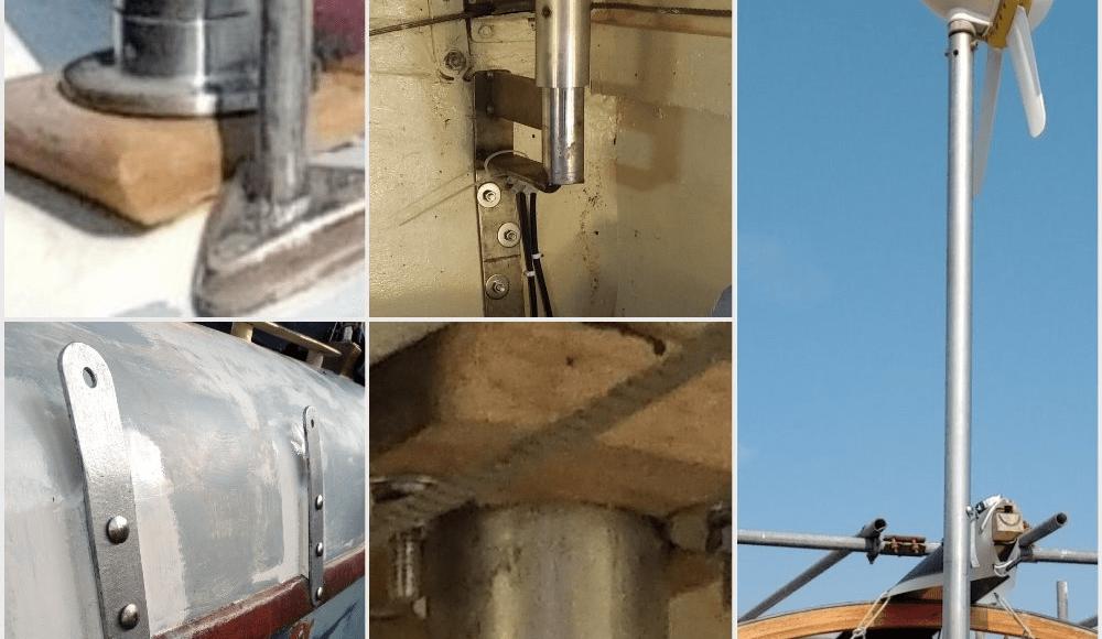 A169 Wind gen - chainplates collage
