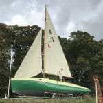Excellent new sails from James Lawrence are givent their first outing