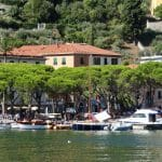 La Grazie is a picturesque harbour, the more so for the presence of Atalanta Mary.