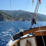 Leaving Veranda towards Portofino
