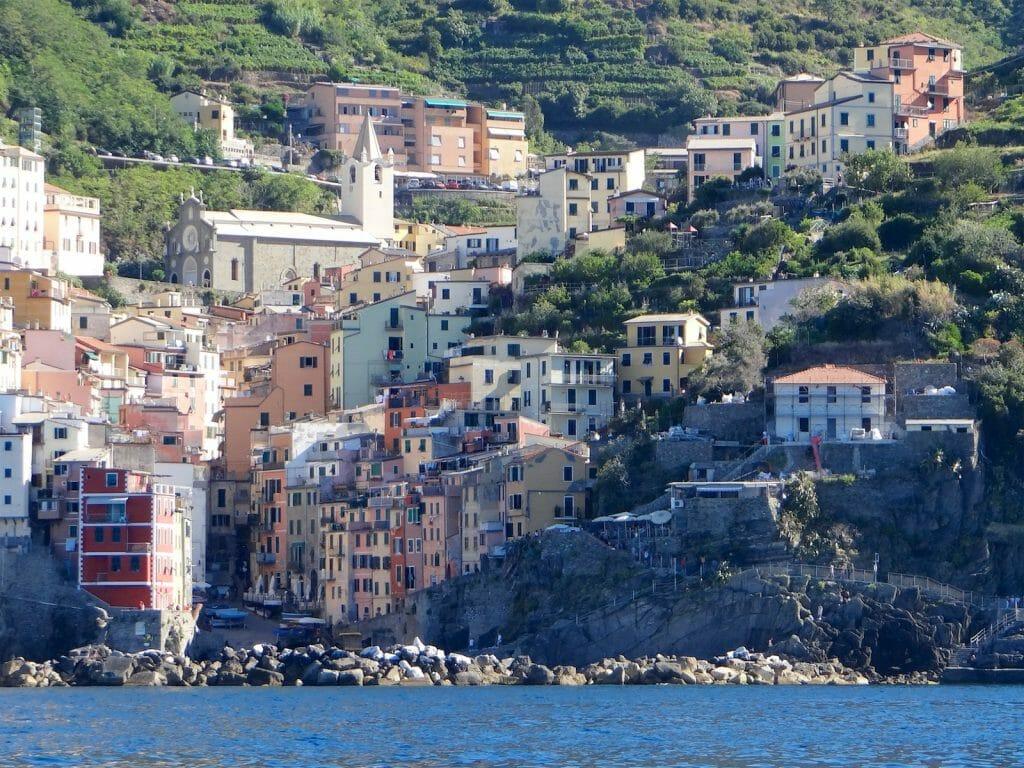 Riomaggiore on the Cinque Terre.