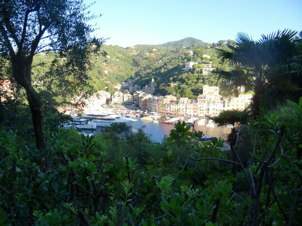 From the promontory between Portofino and the Mediterranean